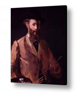 אמנים מפורסמים אדואר מנה   Édouard Manet 047