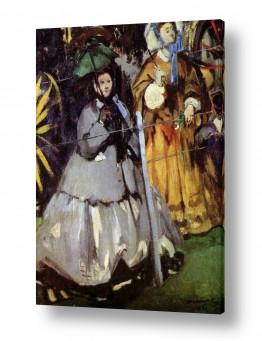 אמנים מפורסמים אדואר מנה   Édouard Manet 048