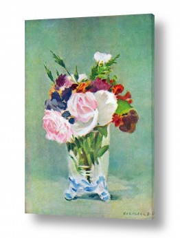 אמנים מפורסמים אדואר מנה   Édouard Manet 049