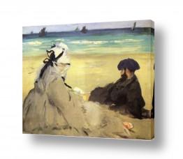 אמנים מפורסמים אדואר מנה   Édouard Manet 051
