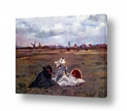 אמנים מפורסמים אדואר מנה   Édouard Manet 052