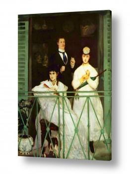 אמנים מפורסמים אדואר מנה   Édouard Manet 053