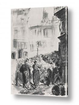 אמנים מפורסמים אדואר מנה   Édouard Manet 055