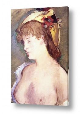 אמנים מפורסמים אדואר מנה   Édouard Manet 056