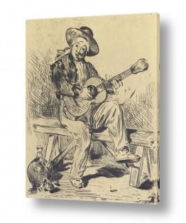 אמנים מפורסמים אדואר מנה   Édouard Manet 057