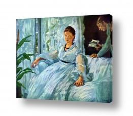 אמנים מפורסמים אדואר מנה   Édouard Manet 058