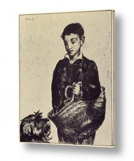 אמנים מפורסמים אדואר מנה   Édouard Manet 060