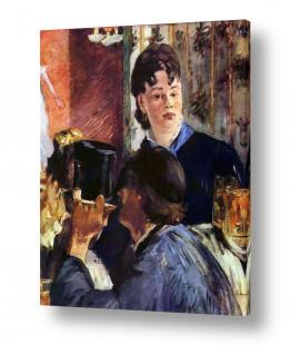 אמנים מפורסמים אדואר מנה   Édouard Manet 061