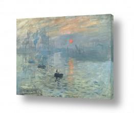 אבסטרקט מופשט אקספרסיוניזם מופשט | Claude Monet 073