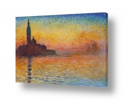 אמנים מפורסמים קלוד מונה | San Giorgio Maggiore