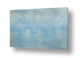 אבסטרקט מופשט אקספרסיוניזם מופשט | Claude Monet 083