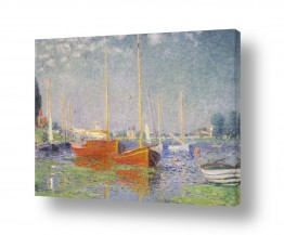 אמנים מפורסמים קלוד מונה | Claude Monet 087