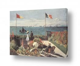 אמנים מפורסמים קלוד מונה | Claude Monet 096