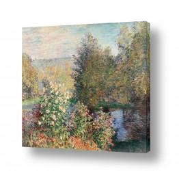 אמנים מפורסמים קלוד מונה | Claude Monet 102