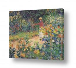 אמנים מפורסמים קלוד מונה | Claude Monet 105