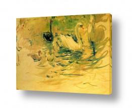אבסטרקט מופשט אקספרסיוניזם מופשט | Morisot Berthe 051
