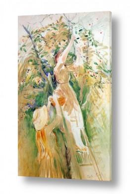 אמנים מפורסמים ברת מוריזו | Morisot Berthe 053