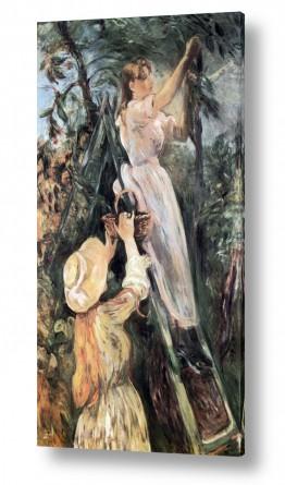 אמנים מפורסמים ברת מוריזו | Morisot Berthe 054