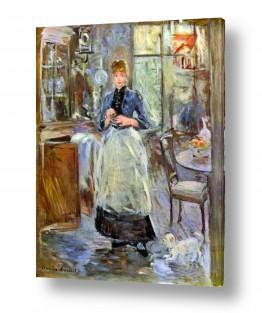 אמנים מפורסמים ברת מוריזו | Morisot Berthe 055