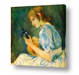 אמנים מפורסמים ברת מוריזו | Morisot Berthe 057