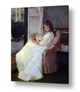 אמנים מפורסמים ברת מוריזו | Morisot Berthe 060