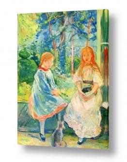 אמנים מפורסמים ברת מוריזו | Morisot Berthe 063