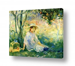 אמנים מפורסמים ברת מוריזו | Morisot Berthe 064