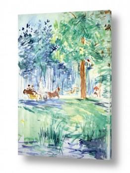 אמנים מפורסמים ברת מוריזו | Morisot Berthe 067