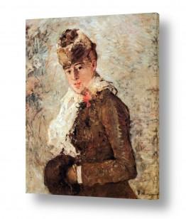 אמנים מפורסמים ברת מוריזו | Morisot Berthe 068
