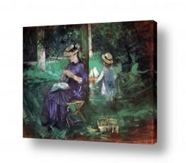 אמנים מפורסמים ברת מוריזו | Morisot Berthe 069
