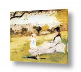 אמנים מפורסמים ברת מוריזו | Morisot Berthe 071