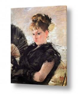 אמנים מפורסמים ברת מוריזו | Morisot Berthe 073