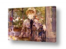 אמנים מפורסמים ברת מוריזו | Morisot Berthe 074
