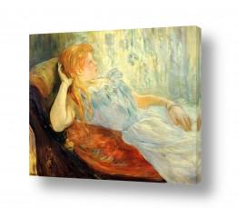 אמנים מפורסמים ברת מוריזו | Morisot Berthe 075