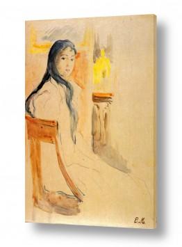 אמנים מפורסמים ברת מוריזו | Morisot Berthe 076