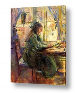 אמנים מפורסמים ברת מוריזו | Morisot Berthe 077