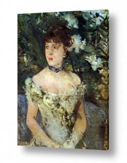 אמנים מפורסמים ברת מוריזו | Morisot Berthe 079