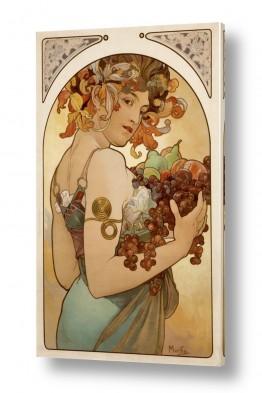 אמנים מפורסמים אלפונס מוכה | Fruit