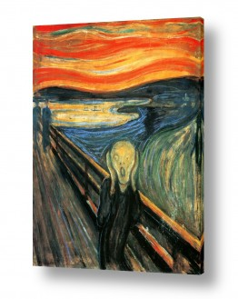אמנים מפורסמים אדוורד מונק | Scream