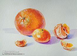 תפוז ומנדרינות