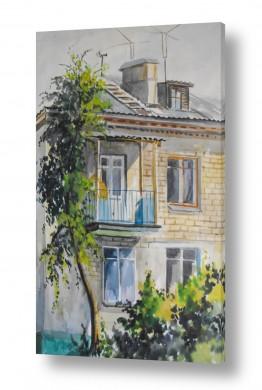 אורבני בתים | מרפסת