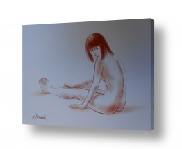 ציורים עירום | נערות במים