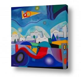 ציורים נטליה ברברניק | לילה