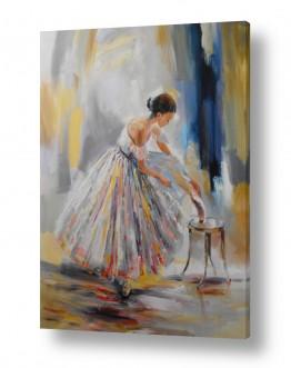 אמנים מפורסמים ציורים שנמכרו | רקדנית