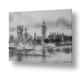 תמונות לפי נושאים רישום | לונדון