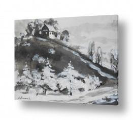 אורבני בתים | שלג הראשון