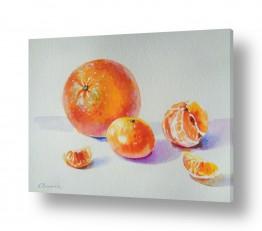 תמונות לחדרי אוכל | תפוז ומנדרינות