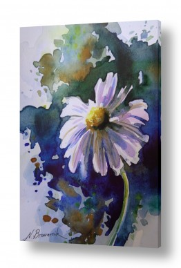 ציורים ציור בצבעי מים | בבונג