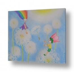 ציורים ציורים אנרגטיים | מתנה לקשת