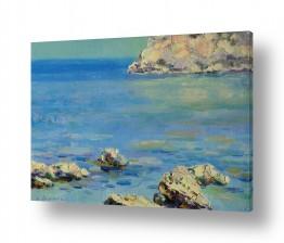 ציורים מים | ים בבוקר
